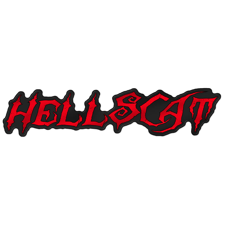 """HellScat"" Grille Badge"