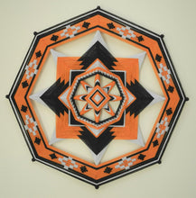 Load image into Gallery viewer, 3 colors of your choice, Ojo de Dios, 8-sided, 24 inches, acrylic yarns, by custom order