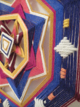 Load image into Gallery viewer, First Twilight, a 12 inch, 8-sided Ojo de Dios, by custom order