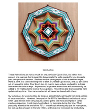 Load image into Gallery viewer, Little Gem Kit! Kit! Includes Sticks, Yarn, and Downloadable Instructions. Kit for making one 8-sided, 12-inch Mandalas called Little Gem