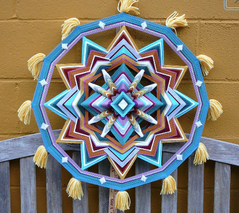 Silent Wonder 24 inch with tassels.