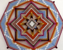 Load image into Gallery viewer, Unbridled Spirit  12 inch  8-sided Mandala