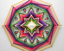 Load image into Gallery viewer, Directions Finding Joy, 24 inch  Mandala