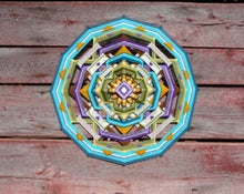 Load image into Gallery viewer, Summer Moon, 24 inch  Mandala