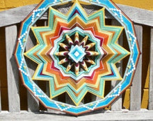 Load image into Gallery viewer, Sun Burst, 24 inch  Mandala