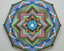 Load image into Gallery viewer, Eternal Spring Variations. , 18 inch Mandala