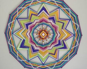 48 In, Custom variations , 48 inch  Mandala
