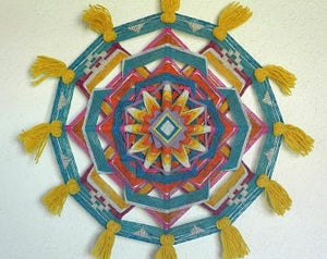 Bright Earth, 24 inch  Mandala