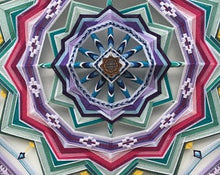 Load image into Gallery viewer, Ojos De Dios Deep Surrender, 24 inch  Mandala