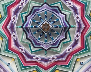 Deep Surrender, 24 inch  Mandala