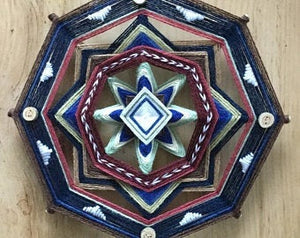 Down to Earth 12 inch  8-sided Mandala