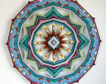 Finding the Heart, 24 inch  Mandala