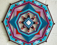 Load image into Gallery viewer, Evening Star  , 14 inch Mandala