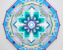 Load image into Gallery viewer, Health and Happiness, 24 inch  Mandala