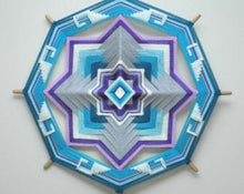 Load image into Gallery viewer, Life Abounds , 16 inch Mandala