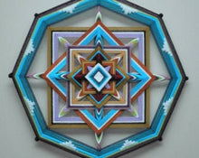 Load image into Gallery viewer, On Point  , 14 inch Mandala Variations
