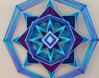 River Jewels 12 inch  8-sided Mandala
