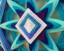 Load image into Gallery viewer, Ojos De Dios River Jewels 12 inch  8-sided Mandala