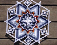 Load image into Gallery viewer, Snow Bound, 14 inch Mandala Variations