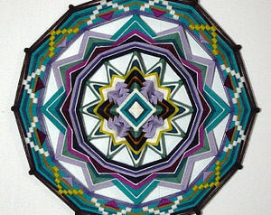 Truth and Beauty, 18 inch Mandala