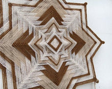 Load image into Gallery viewer, Ojos De Dios another vintage, 14 inch Mandala Variations