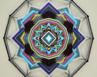 Wild Honey, 18 inch Mandala