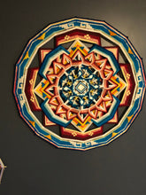 Load image into Gallery viewer, 36 inch Custom hand spun Mandala of choice.