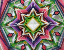 Load image into Gallery viewer, Finding Joy 30 inch, 8-sided Mandala