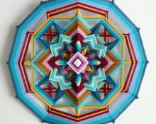 Load image into Gallery viewer, Ojos De Dios Butterfly Sky 18, Mandala