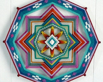 Painted Desert 24 inch  8-sided Mandala
