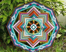 Load image into Gallery viewer, Painted Desert 24 inch  8-sided Mandala