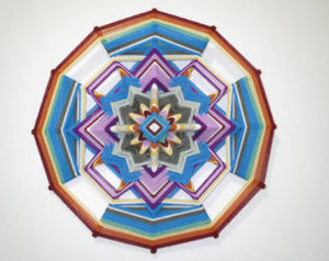 Pequena Mariposa, Little Butterfly, 16 inch Mandala