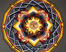 Load image into Gallery viewer, Ojos De Dios Connected to the Root, 36 inch Mandala