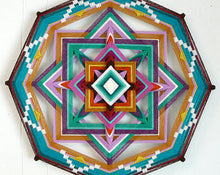 Load image into Gallery viewer, Cross Roads, 18 inch Mandala