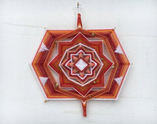 Load image into Gallery viewer, Ojos De Dios Rooted  12 inch  8-sided Mandala