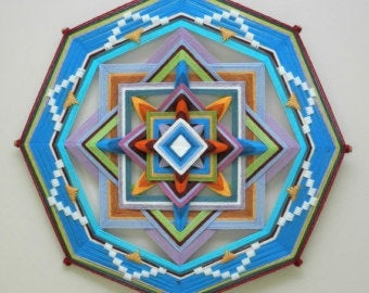 Eternal Spring Variations. , 18 inch Mandala