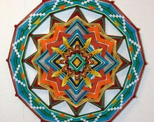 Load image into Gallery viewer, Sunshine to the Heart, 24 inch  Mandala