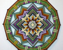 Load image into Gallery viewer, Back to Center , 16 inch Mandala