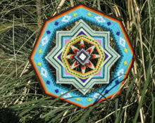 Load image into Gallery viewer, Golden Sun  , 14 inch Mandala Variations