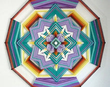 Load image into Gallery viewer, Mariposa Hermosa, 18 inch Mandala