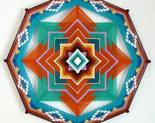 Load image into Gallery viewer, Charmed  , 14 inch Mandala Variations