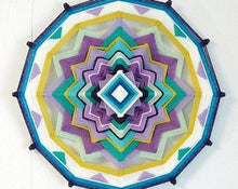Load image into Gallery viewer, Delight, 14 inch Mandala Variations