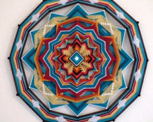 Load image into Gallery viewer, Rising Sun, 24 inch  Mandala
