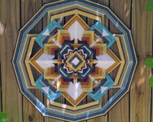 Load image into Gallery viewer, Pearl Within:  24 inch  Mandala