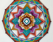 Load image into Gallery viewer, Ojos De Dios Spirit Reborn, 18 inch Mandala