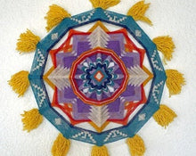 Load image into Gallery viewer, Flying High, 18 inch Mandala Variations