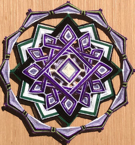 Willingness and hope, a 12-inch, 14-sided Mandala