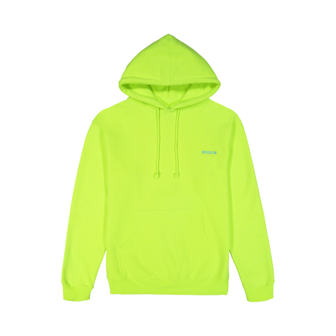 Fleece Hyper Yellow Shop Hoodie