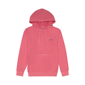Coral Garment Dyed Shop Hoodie