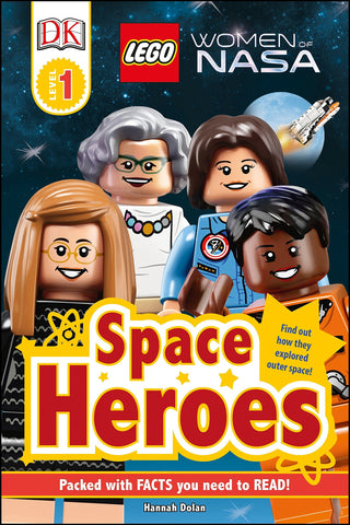 Lego Women Of NASA Space Heroes Book